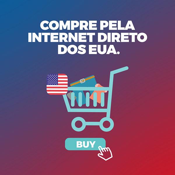 Compras online no exterior usando o endereço do queriatanto.com